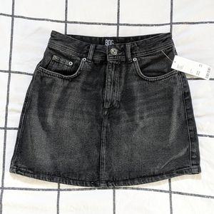 Urban Outfitters Black Denim Skirt